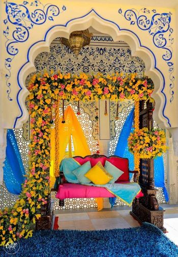 Photo of Floral mehendi decor ideas