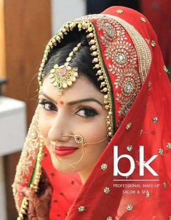 Bridal Makeup  by Bhaavya Kapur