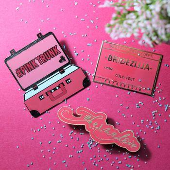 Bachelorette party favour badges