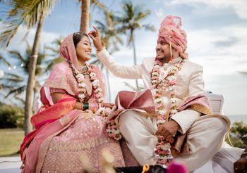 Couple wedding shot