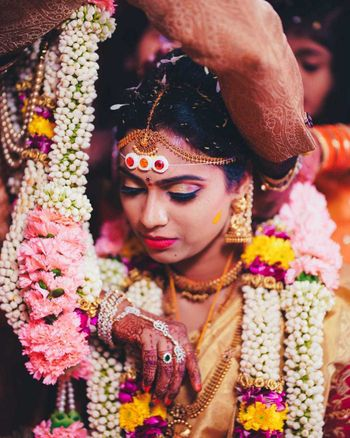 South Indian bridal portrait