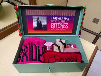 Photo of Customised favour box for bachelorette party