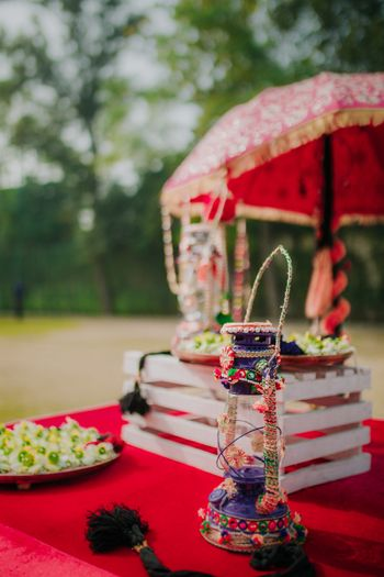 Photo of Lantern decor with DIY for centrepiece
