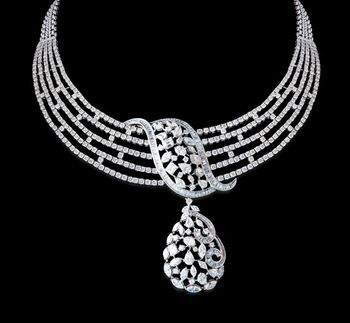 diamond necklace indian