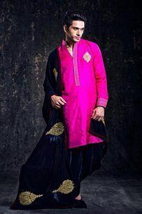 bright pink kurta