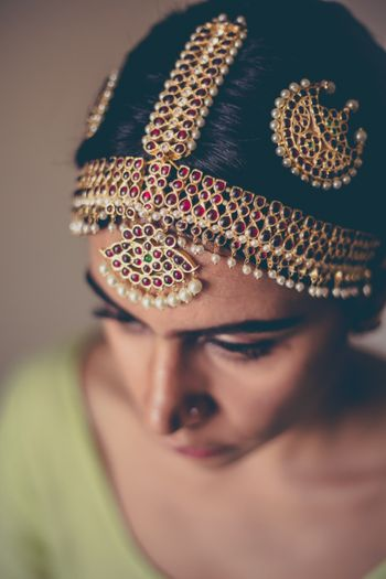 Bridal mathaaptti for South Indian brides