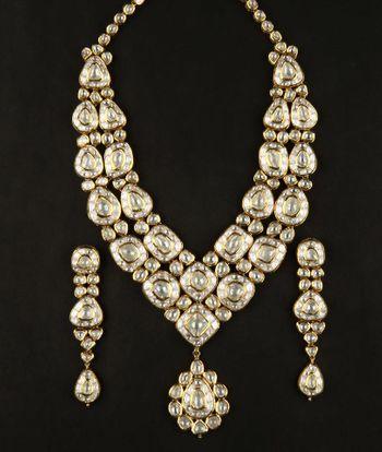 Photo of polki necklace
