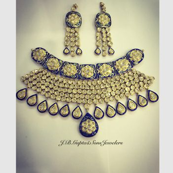 Photo of Polki Necklace and Earrings