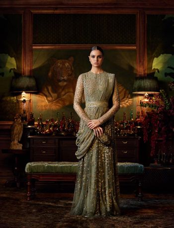 Sabyasachi wedding outfit