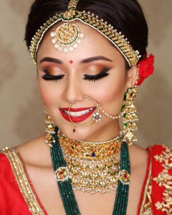 Wedding day bridal makeup