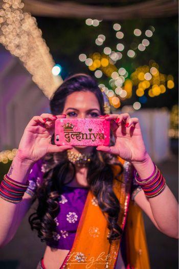 Fun bridal accessory phone cover