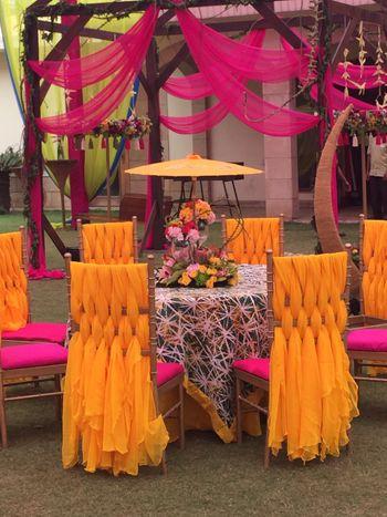 Photo of mango yellow decor