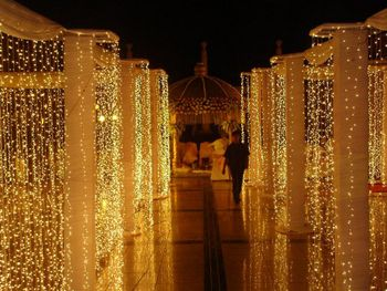 Fairy Lights Entrance Decor
