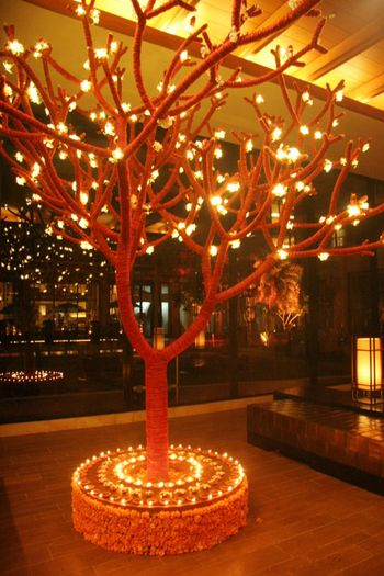 Floral Tree Decor - Vivanta by Taj Surajkund