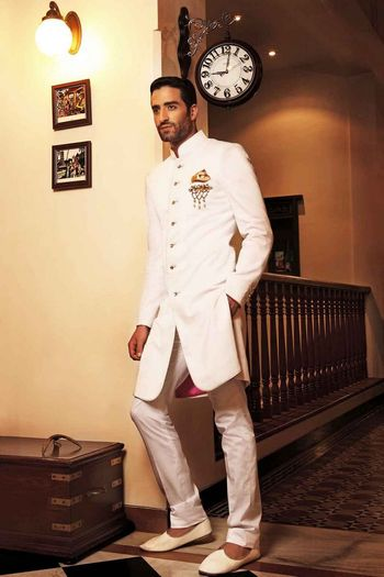 Photo of white jodhpuri