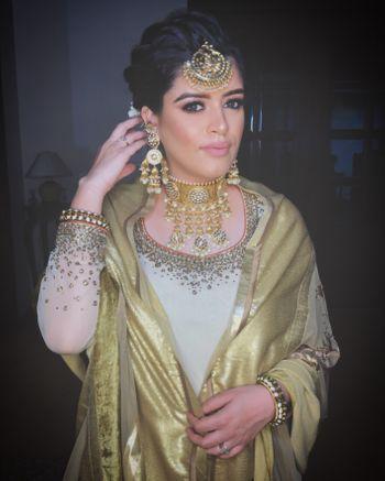 Photo of Unique gold necklace