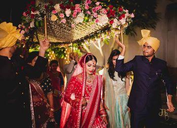 a pretty bridal entry