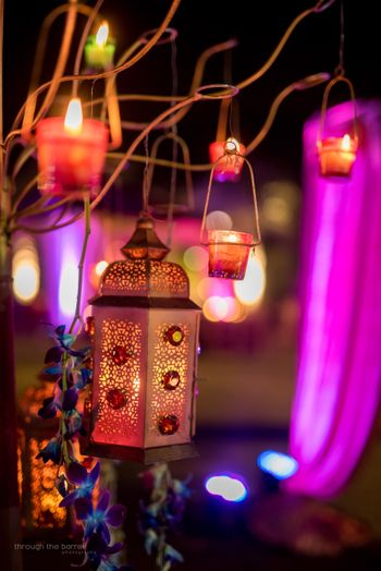 Photo of Hanging lantern decor