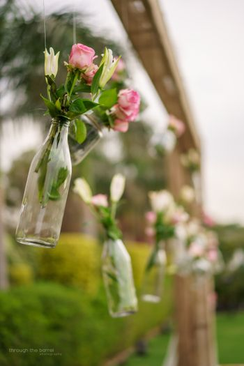 Photo of Glass bottle decor