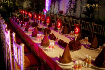 Table setting decor