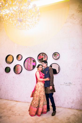 Photo of Bridal lehenga and grooms wear