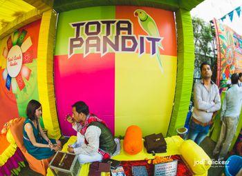 Photo of Parrot astrologer stall for mehendi
