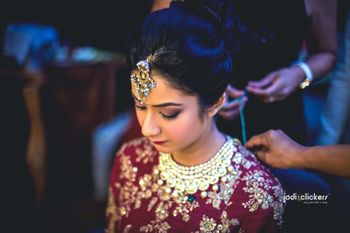 Photo of Bridal jewellery in polki