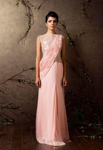 Photo of gown sari