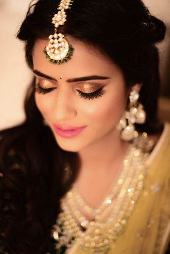 Sophisticated engagement makeup