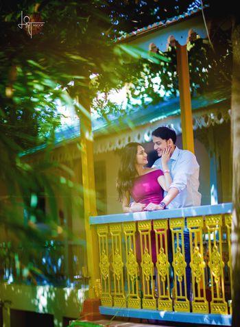 simple pre-wedding shoot