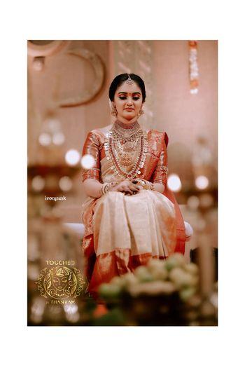Minimalist south Indian bride
