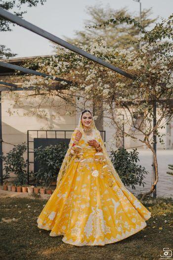 Sikh bridal anarkali