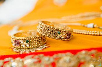 bridal gold kadas