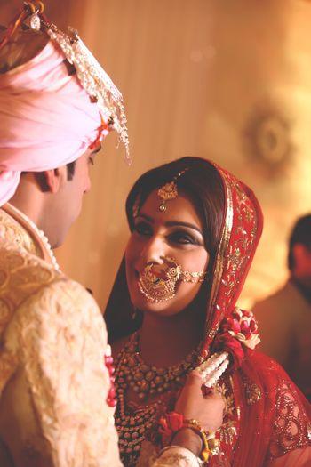 gold bridal nosering