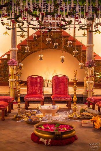 Photo of south indian mandap decor