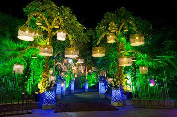 hanging lamps entrance decor