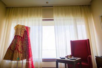 Photo of lehenga on hanger