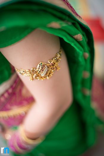 Photo of Gold armlet or bazubandh