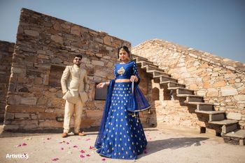 couple pre-wedding shoot in fort