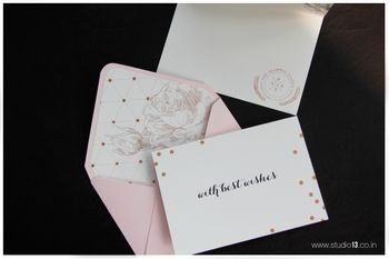 Photo of thank you cards