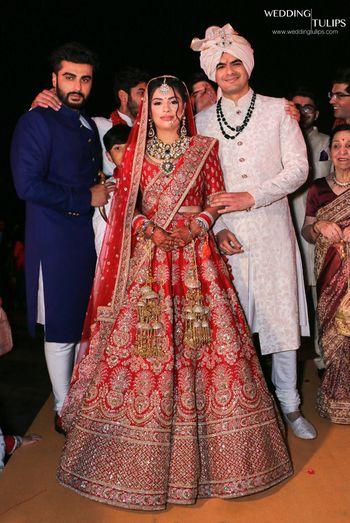 Photo of Arjun Kapoor at wedding