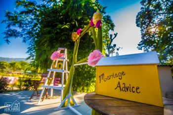 Marriage advice for couple by the guests