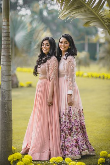 Photo of Girly engagement lehengas for brides to be