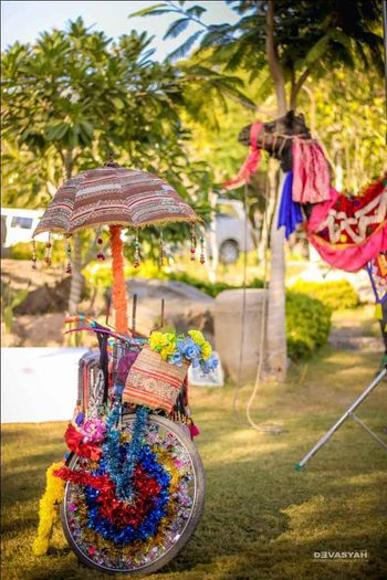 Photo of Quirky Mehendi decor