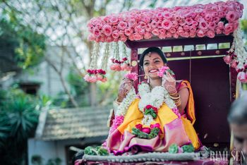 South Indian Bride Entry