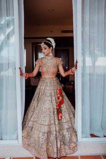 Bridal getting ready shot.