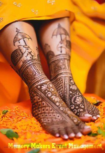 Bridal feet mehendi ideas