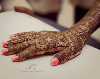 Photo of mehendi design
