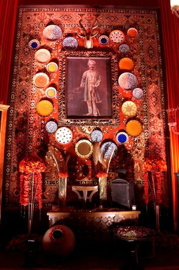 Photo of Royal decor idea with Sabyasachi theme