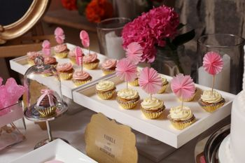 Photo of cupcakes for bridal shower